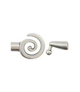 CIERRE ESPIRAL 21x28mm 15x6mm INT 3,5 mm 1 SET