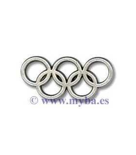 Aros olímpicos metal ZAMAK 13x25x2 MM 2 UD