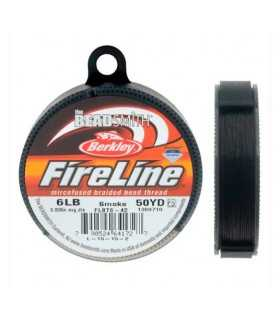 HILO NYLON FIRELINE 0,15 MM (6LB) x 45 M SMOKE
