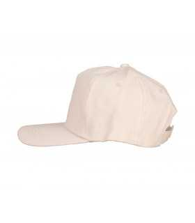 GORRA DE TELA COLOR CRUDO PARA ADULTO 58 CM