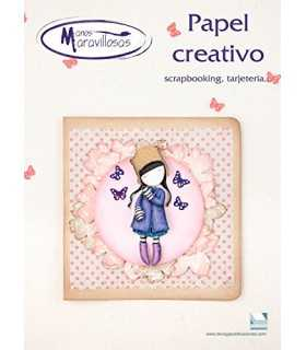 REVISTA MANOS MARAVILLOSAS RC001 PAPEL CREATIVO