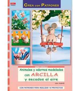 ANIMALES Y ADORNOS MODELADOS CON ARCILLA. EL DRAC