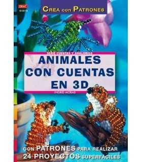 ANIMALES CON CUENTAS EN 3D. SERIE CREA CON CUENTA