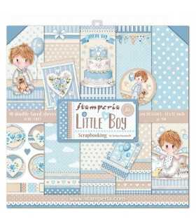 PAPELES SCRAP 10ud 12x12 26 LITTLE BOY