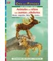 ANIMALES EN RELIEVE CON CUENTAS Y ABALORIOS DRAC
