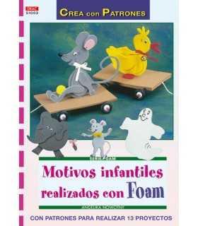 MOTIVOS INFANTILES CON FOAM. SERIE FOAM EL DRAC.