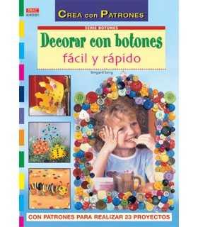 DECORAR CON BOTONES FÁCIL Y RÁPIDO EL DRAC.
