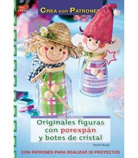 ORIGINALES FIGURAS CON POREXPAN Y BOTES DE CRISTAL