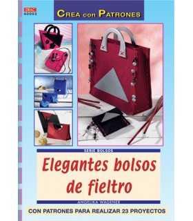 ELEGANTES BOLSOS DE FIELTRO. EL DRAC.