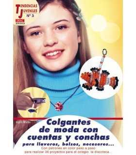 COLGANTES DE MODA CON CUENTAS Y CONCHAS EL DRAC