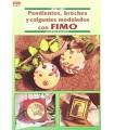 PENDIENTES, BROCHES Y COLGANTES CON FIMO. EL DRAC
