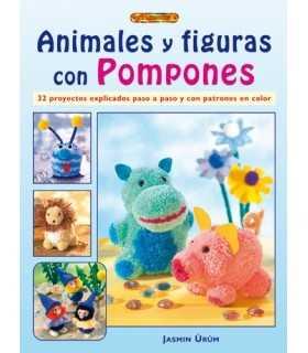 ANIMALES Y FIGURAS CON POMPONES. EL DRAC