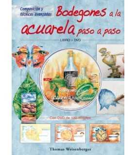 DVD Y LIBRO BODEGONES A LA ACUARELA PASO A PASO