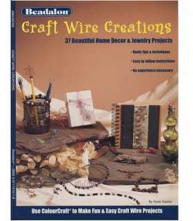 CRAFT WIRE CREATIONS. REVISTA BEADALON.