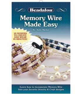 BEADALON MEMORY WIRE MADE EASY EN INGLÉS
