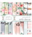 PAPEL SCRAP ARTIS GARDEN JOURNAL 16 HOJAS