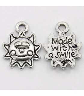 SOL MADE WITH A SMILE 16x12,5x2 MM 10 UNIDADES