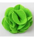 FLOR DE FIELTRO MULTI CAPAS 55 MM 2 UNIDADES : color:Verde Claro
