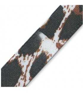 CINTA RASO ESTAMPADO ANIMAL PRINT 10 MM 2 METROS