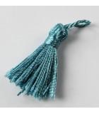 BORLAS O POMPONES 2,5-3,2 CM 5 UNIDADES : color:Azul Claro