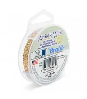 ARTISTIC WIRE BRAID 1,6 MM 76 CM CUADRADO PB