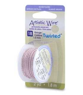 ARTISTIC WIRE TWISTED 1,00 MM 1,8 M ORO ROSA