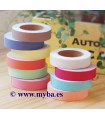 FABRIC TAPE DAILYLIKE COLORES LISOS 15 MM x5 M