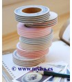 FABRIC TAPE DAILYLIKE CON RAYAS 15 MM x5 M