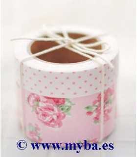 SET FABRIC TAPE DAILYLIKE FLORAL 15 MM Y 30 MMx3 M