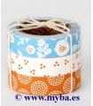 SET FABRIC TAPE DAILYLIKE 50 BEACH 15 MMx3 Mx3 UD