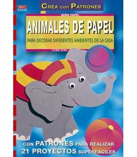 ANIMALES DE PAPEL PARA DECORAR DIFERENTES AMBIENTE