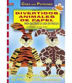 DIVERTIDOS ANIMALES DE PAPEL PARA DECORAR LA CASA