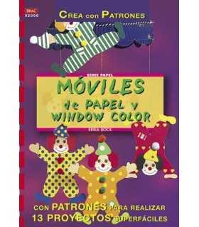 MÓVILES DE PAPEL Y WINDOW COLOR
