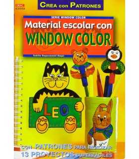 MATERIAL ESCOLAR CON WINDOW COLOR