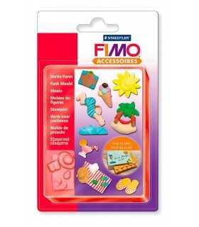MOLDE FLEXIBLE 9x12 CM FIMO PLAYA
