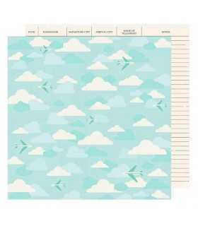 "PAPEL  AVIONES GO NOW GO SHIMELLE  12""x12"" 1 UD"