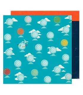 "PAPEL GLOBOS GO NOW GO SHIMELLE  12""x12"" 1 UD"