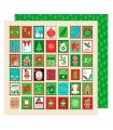 """PAPEL HOLIDAY GREETINGS AM. CRAFTS 12""""x12"""" 1 UD"""
