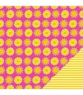 "PAPEL IMAGINISCE FUN IN THE SUN SOL  12""x12"" 1 UD"