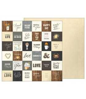 "PAPEL SIMPLE GREETINGS JEN HADFIELD 12""x12"" 1 UD"