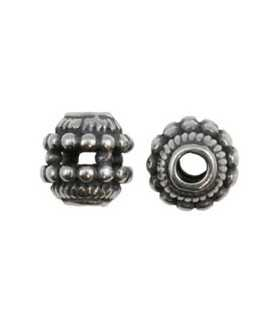 BOLA TIPO BALI 8 MM PLATA LEY AG. 2 MM 1 UD