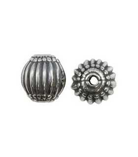 BOLA TIPO BALI 11 MM PLATA LEY AG. 2 MM 1 UD