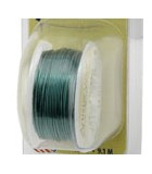 HILO COBRE ARTISTIC WIRE 1,02 MM 3,6 METROS : color:KELLY GREEN