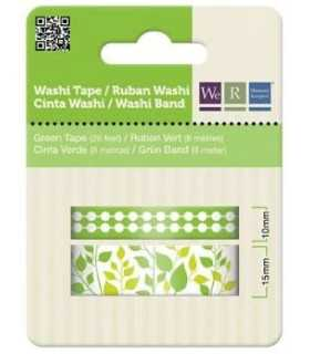 WASHI TAPE WE R MEMORY KEEPERS SET VERDE