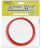 HILO COBRE ARTISTIC WIRE 2,05 MM 3,05 METROS : color:Rojo