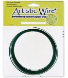 HILO COBRE ARTISTIC WIRE 1,63 MM 3,05 METROS : color:Verde