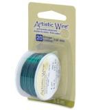 HILO COBRE ARTISTIC WIRE 0,81 MM 5,5 METROS : color:Verde