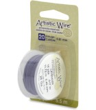 HILO COBRE ARTISTIC WIRE 0,81 MM 5,5 METROS : color:Lavender