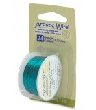 HILO COBRE ARTISTIC WIRE 0,51 MM 9,1 METROS : color:KELLY GREEN