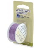 HILO COBRE ARTISTIC WIRE 0,51 MM 9,1 METROS : color:Lavender